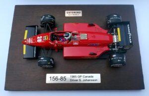 foto_Ostorero Ferrari 156-85 di Stefan Johansson