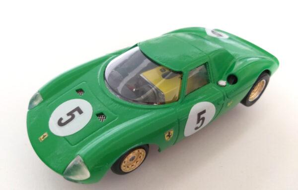 Slotcar Ferrari LM 250 verde David Piper