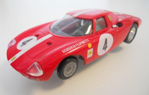 Slotcar Ferrari LM 250 rossa Scuderia Filipinetti