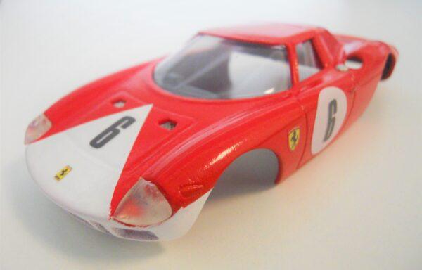 Carrozzeria Ferrari LM 250 rossa Bear Racing Team
