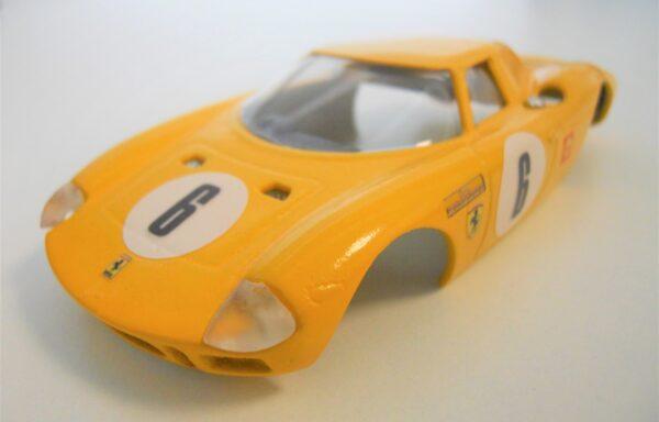 Carrozzeria Ferrari LM 250 gialla Ecurie Francorchamps